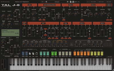 Tal software - Tal-J-8 - Jupiter 8 emulator V. 1.1.2 x64 Vst Vst3 aax