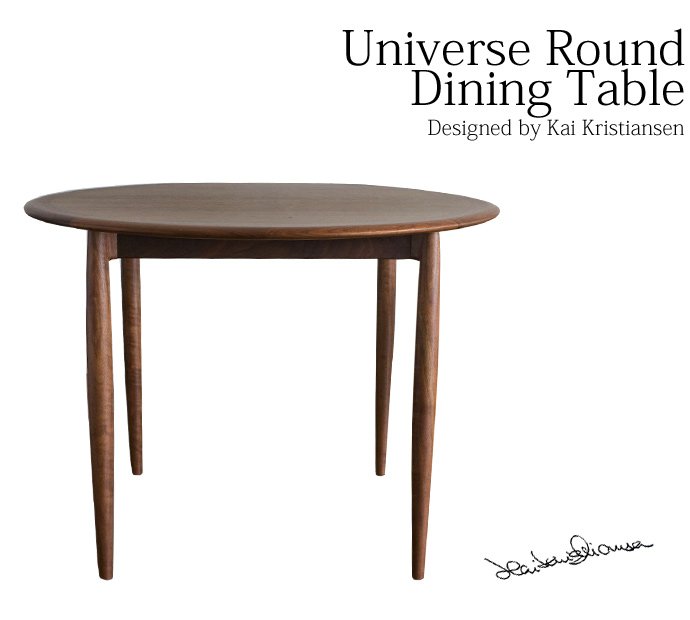 KaiKristiansenデザインユーロダイニングテーブル