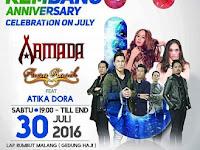 Armada Band dan Aura Kasih Akan Meramaikan Hari Jadi Rembang ke 275 Tahun 2016