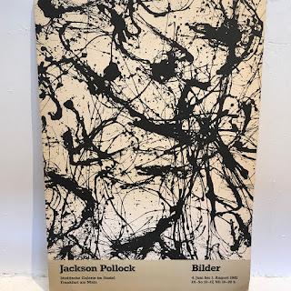 Jackson Pollock Exhibition Lithograph