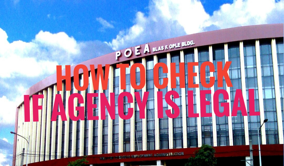 how to know if recruitment agency is legal