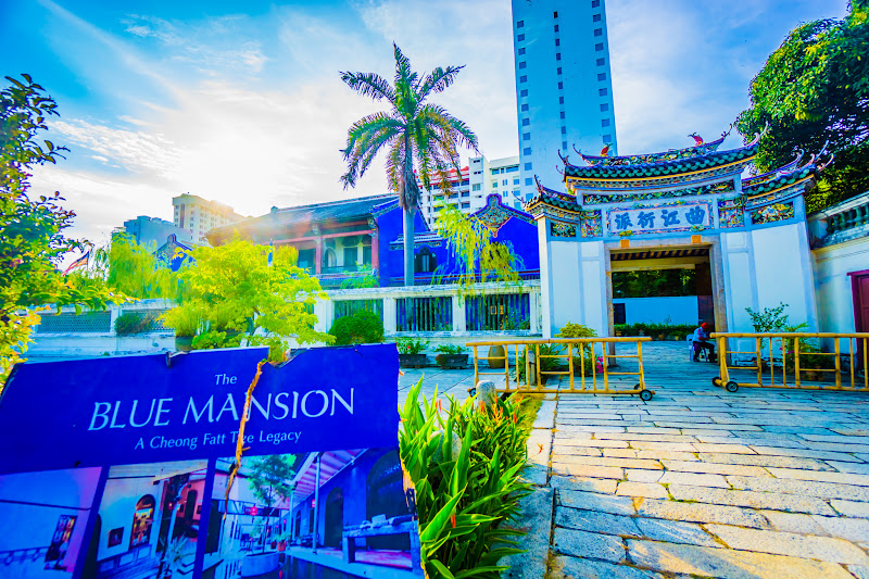 Penang Cheong Fatt Tze Mansion (Blue Mansion) Entrance