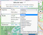 BRouter Web: Profile