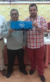 Antonio Hernández Jiménez y José María Gabarri Dual, Campeones del Campeonato de Mus El Cossío