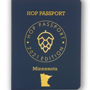 Blue Cover of Brewery Passport