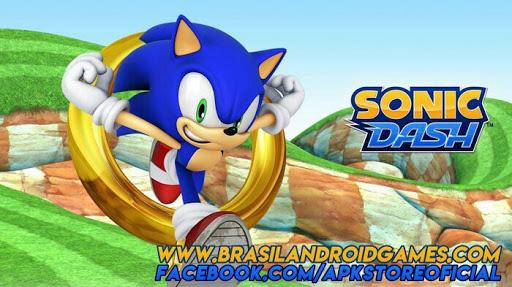 Sonic Dash Android Imagem do Jogo