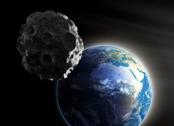 Large Asteroid closing in on Earth; Shutterstock ID 120005749; PO: The Huffington Post; Job: The Huffington Post; Client: The Huffington Post; Other: The Huffington Post