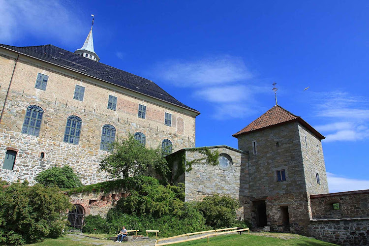 Akershush Castle and Fortress were built to protect Oslo, Norway, from invaders in the 13th century.