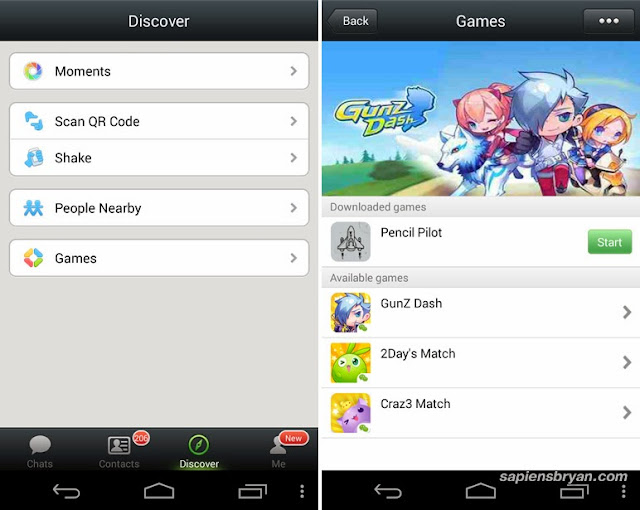 New Games in WeChat 5.1