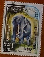 timbre Kampuchea 001