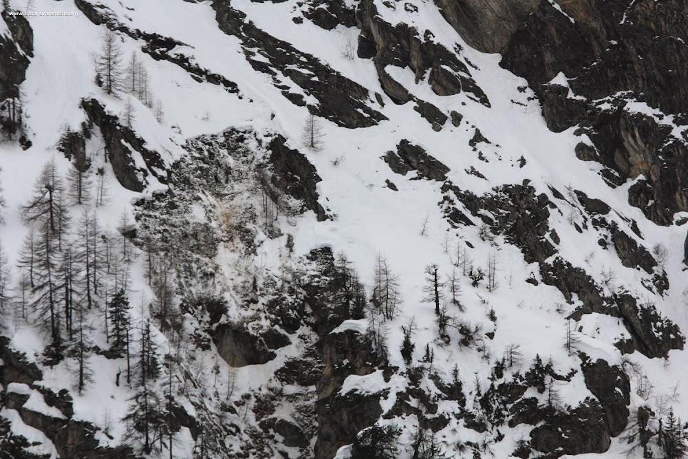 Avalanche Haute Tarentaise, secteur Tignes, Rocher Blanc - Photo 1