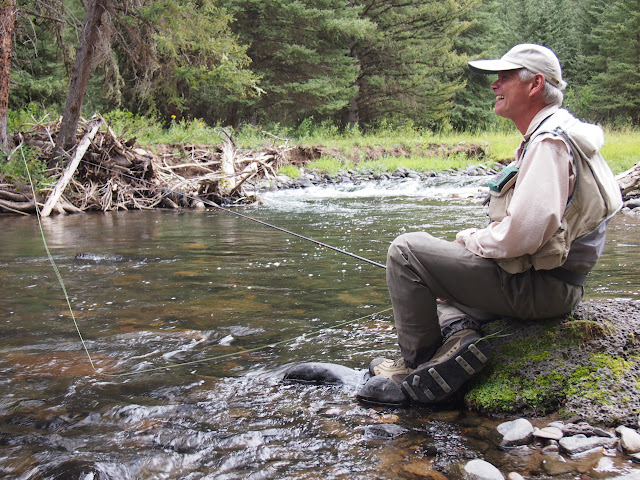 Craig Mathews tenkara on the Madison