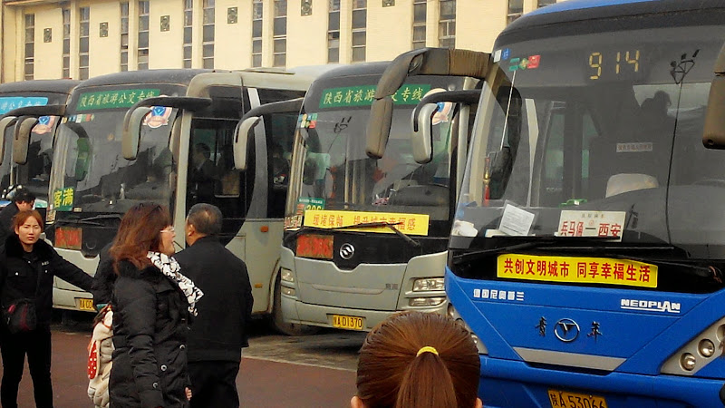 Autobús a los guerreros de terracota