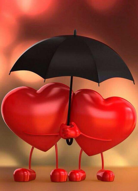 imagenes de corazones de amor con movimiento y frases7