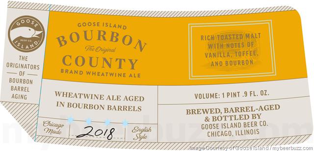 Goose Island 2018 Bourbon County Brand Wheatwine