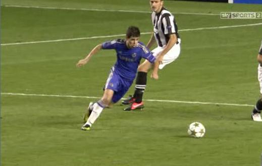Oscar, Chelsea - Juventus