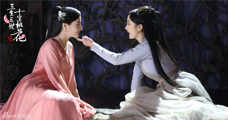 Three Lives Three Worlds Ten Miles of Peach Blossoms / Eternal Love China Drama