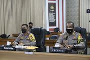 Polda Banten Ikuti Rapat Internal Pimpinan dengan Wakapolri Secara Virtual