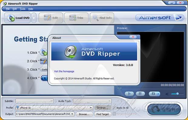 Aimersoft DVD Ripper 3 Full Crack | MAZTERIZE