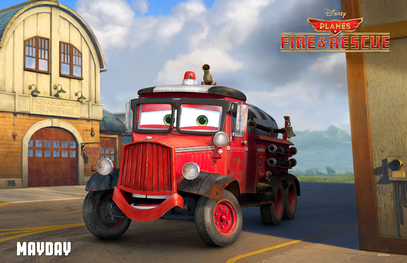 Disney Planes Fire and Rescue Review: Mayday the Fire Engine