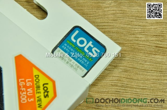 Bao da LG Optimus VU 3 F300 Lots Double View