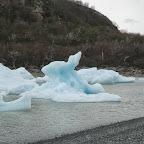 Eis im Lago Dickson