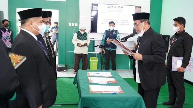 Zairullah Azhar Resmikan Kantor MUI Tanbu dan Lantik Pengurus Baznas