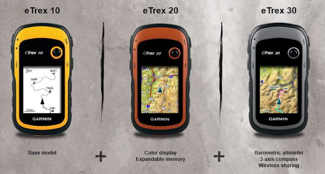 The New Garmin eTrex Series