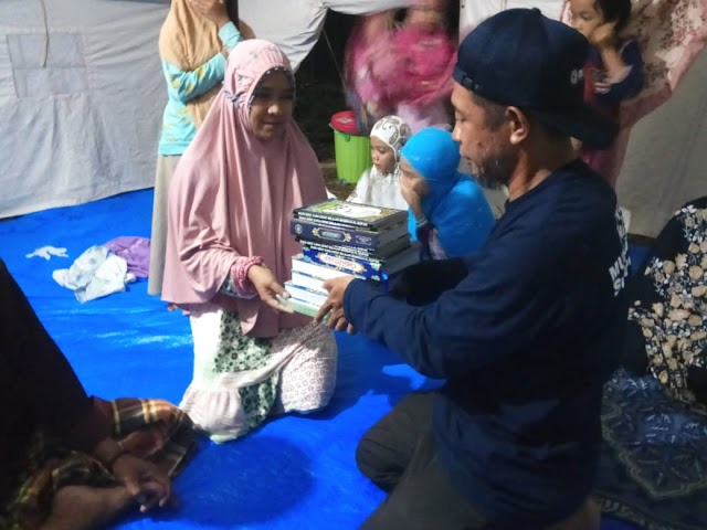 Pulihkan Spritual Healing, PWM Sulbar Terjunkan Puluhan Relawan Dai Bencana