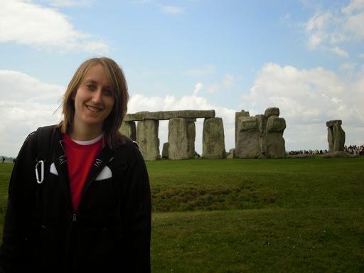 Heather Robinette at Stonehenge. #StudyAbroadBecause the world awaits you