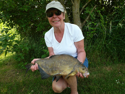 Linda caught this Bream at swallowbrook