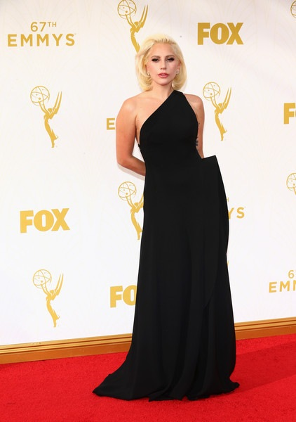 Lady Gaga attends the 67th Annual Primetime Emmy Awards