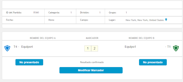 Personalization, design and functionality, in the new match reports