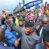 AFRITUNES NEWS:VP YEMI OSINBAJO, GOV. AMBODE, SANWO-OLU STORMS LAGOS MARKETS FOR TRADERMONI EMPOWERMENT