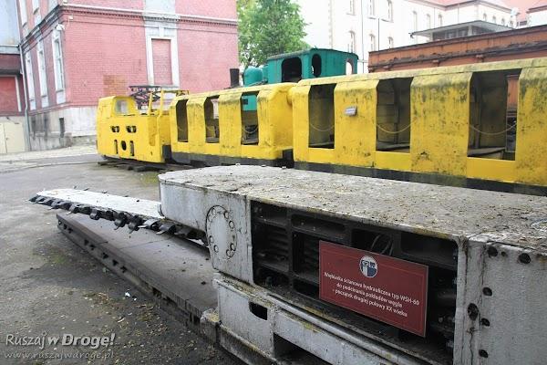 Muzeum Górnictwa Węglowego w Zabrzu - górnicza wrębiarka