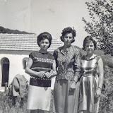 παλιές φωτο1958, με Τούλα (κόρη Στεργιάνως), Αγορ. Πάνου &