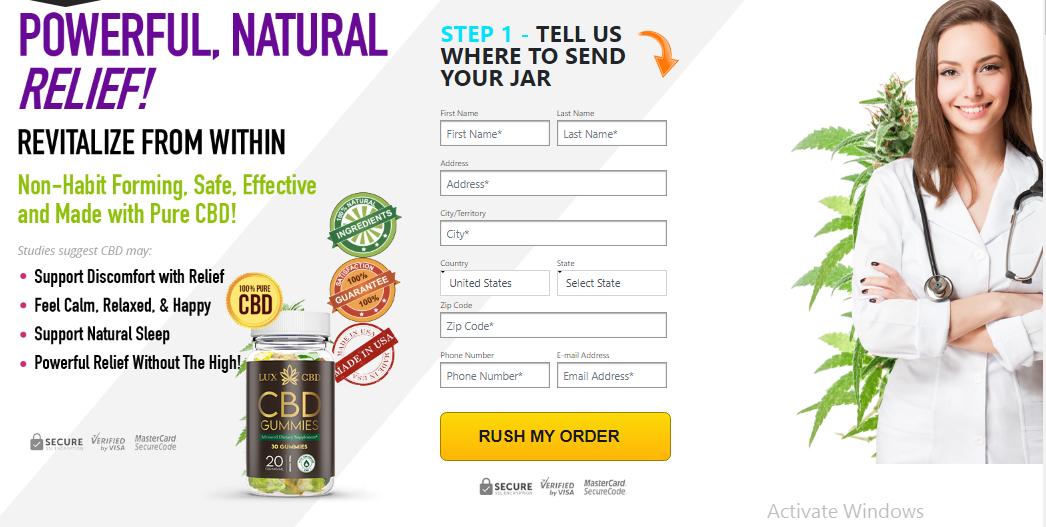 Lux CBD Gummies Reviews, Ingredients, Price, Benefits & Side-Effects |  Blogs | realbuzz.com