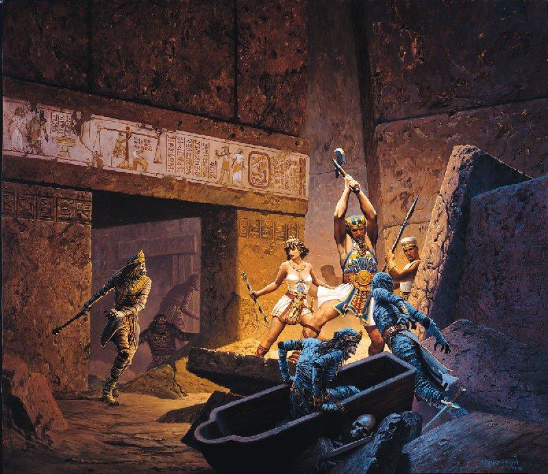 Mummys, Magick Warriors 3