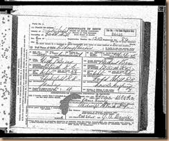 Birth-Sidney Purvis