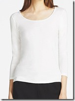 Uniqlo Heattech Extra Warm Scoop Neck Thermal Top