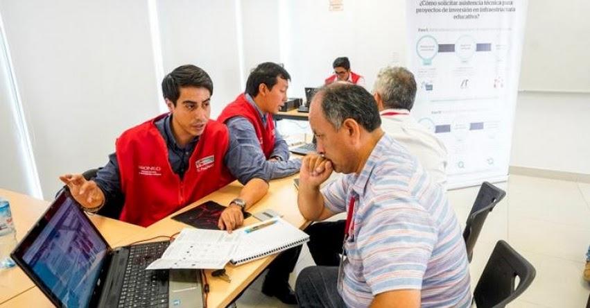 PRONIED inicia talleres de orientación sobre asistencia técnica para proyectos de infraestructura educativa - www.pronied.gob.pe