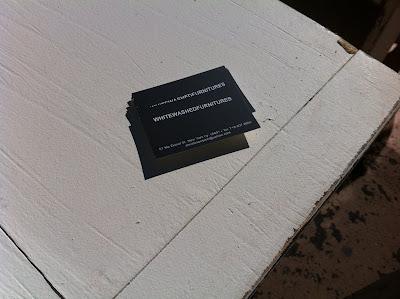 Brooklyn Fleaで見つけた、白い家具だけを売っているお店