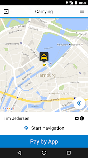 mytaxi App for Taxi Drivers- screenshot thumbnail