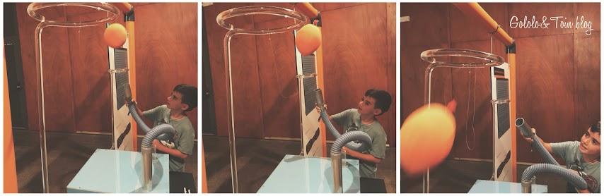 Experimentos en Casa de las Ciencias de Logroño