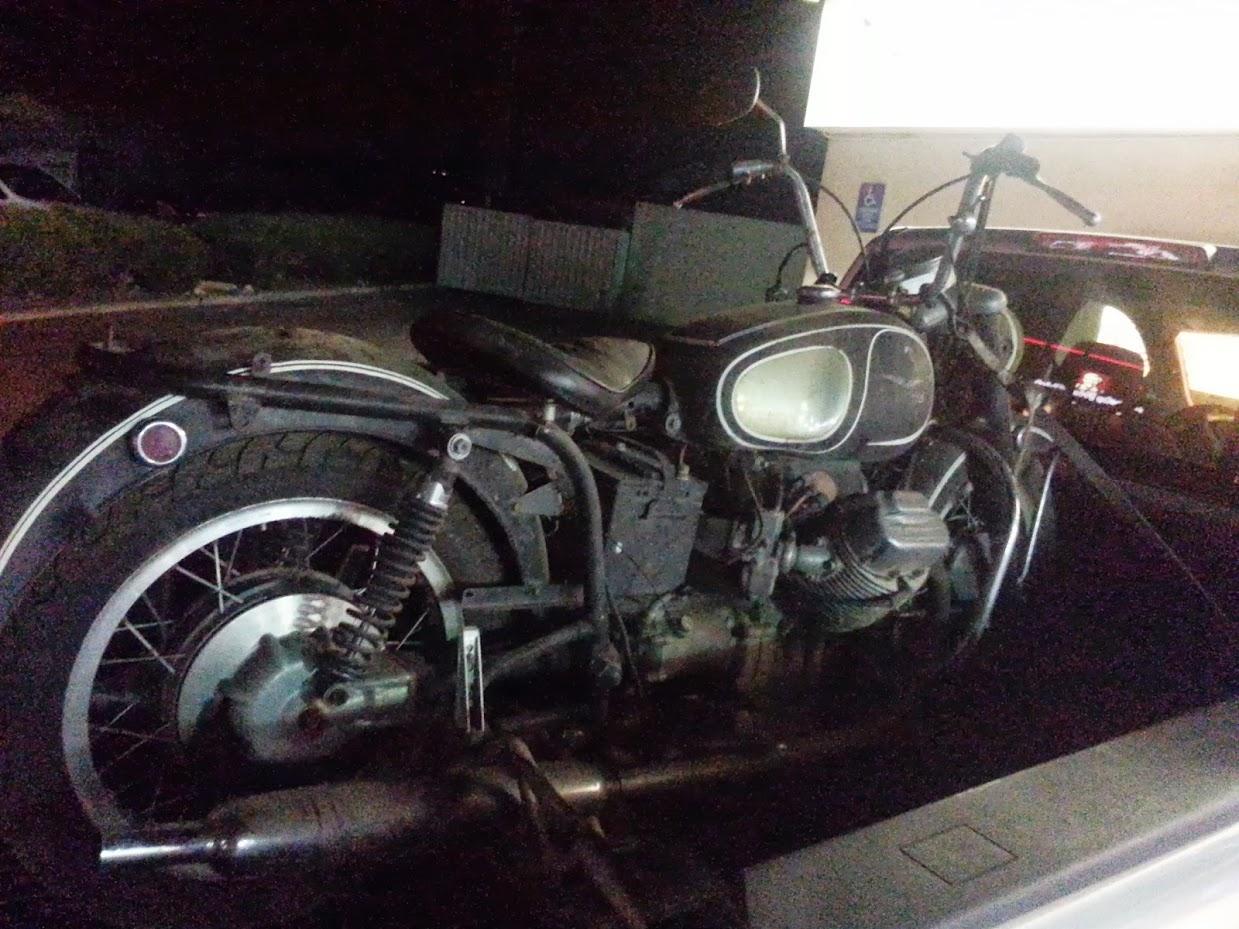 1971 moto guzzi ambassador 750 barn find resurrection & questions