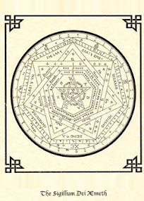 Cover of John Dee's Book Sigillum Dei Aemeth or Seal of the Truth of God English Version