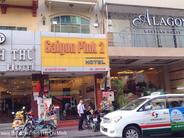 PENGINAPAN MURAH SAIGON PINK 2 DI HO CHI MINH