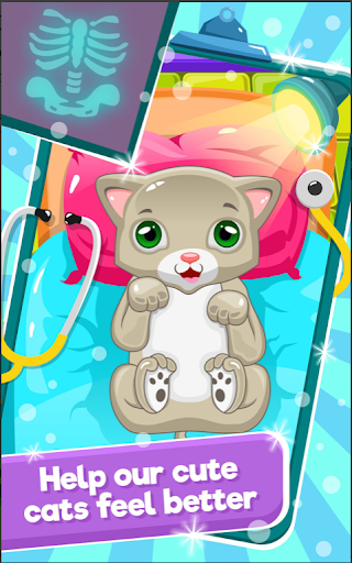 Little Cat Doctor Pet Vet Game modavailable screenshots 2