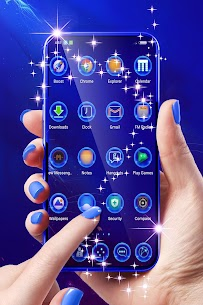 Best Blue Launcher For Android 1.296.1.82 APK with Mod + Data 2