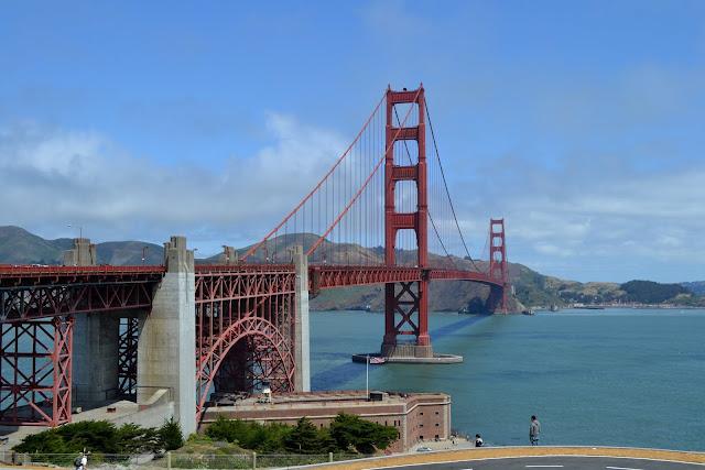 Мост Золотые Ворота, Сан-Франциско (Golden Gate Bridge, San Francisco, CA)